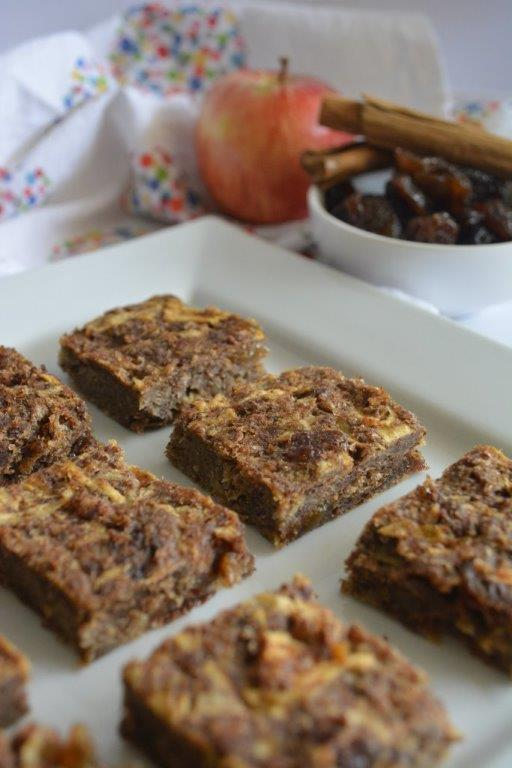 Apple Raisin Weetbix Slice