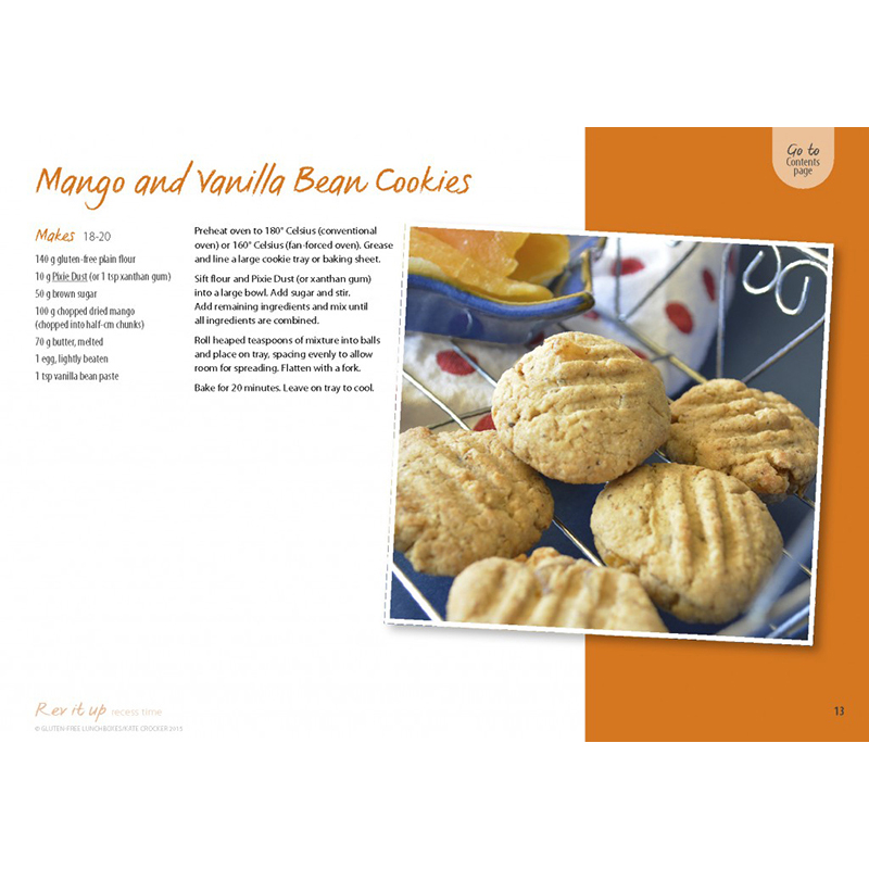 Mango Vanilla Cookies