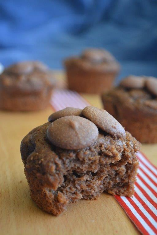 Banana choc muffins 1