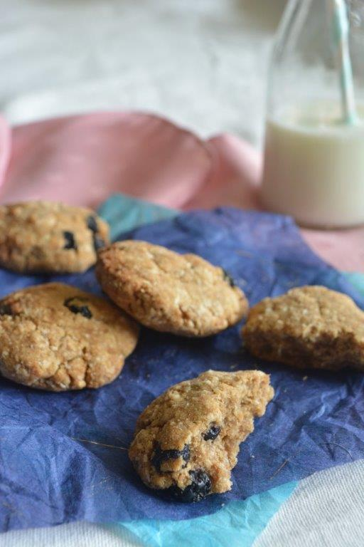 Blueberry Coconut Cookies 2