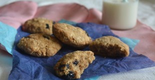 Blueberry Coconut Cookies 3
