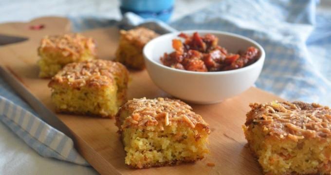 Italian style cornbread