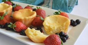 Honey Lemon Ricotta Cakes