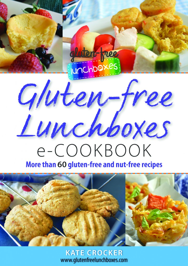 Back to school with Gluten-free Lunchboxes cover of eCookbook
