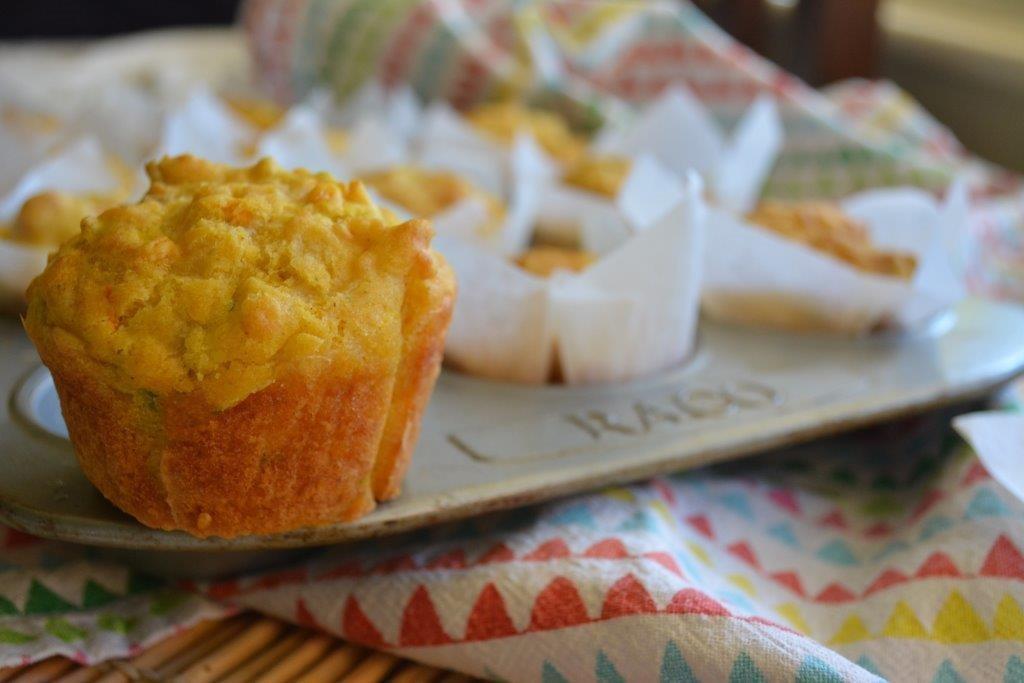 CarrotZuc Muffins 1