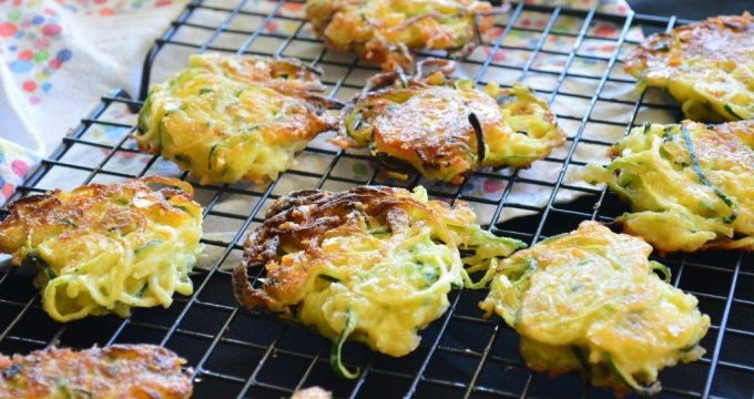 Gluten-free Recipe: Zoodle Fritters