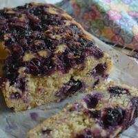 Gluten-free Recipe: Lemon and Blueberry Breakfast Loaf