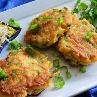Gluten-free Asian Veggie Pancakes