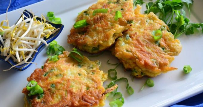 Gluten-free Asian Vegetable Pancakes